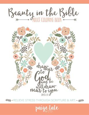 Beauty in the Bible: Adult Coloring Book Cover Image