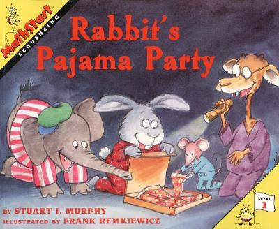 Rabbit's Pajama Party (MathStart 1) Cover Image