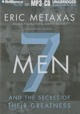 7 Men and the Secret of Their Greatness Cover Image