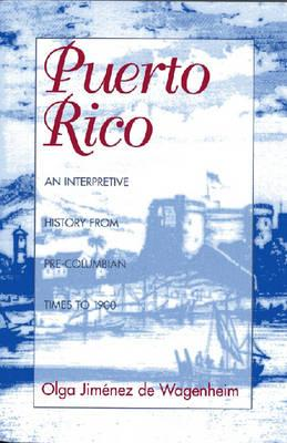 Puerto Rico: An Interpretive History from Pre-Columbian Times to 1900 Cover Image