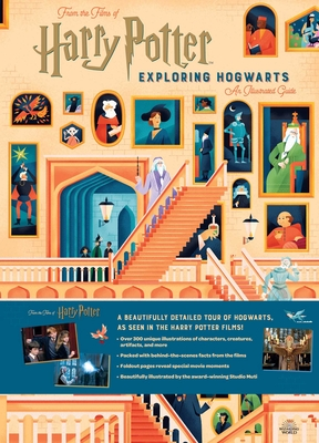 Harry Potter: Exploring Hogwarts: An Illustrated Guide Cover Image