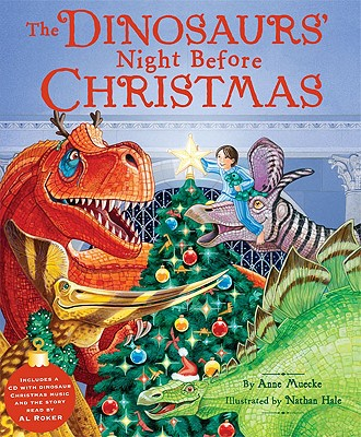 The Dinosaurs' Night Before Christmas [With CD] Cover