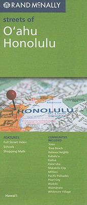 Rand McNally Streets of O'ahu, Honolulu, Hawai'i (Rand McNally Streets Of...) Cover Image