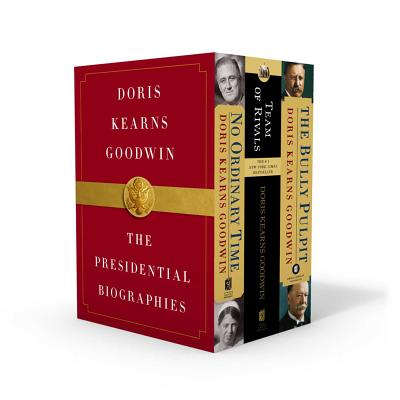 Doris Kearns Goodwin: The Presidential Biographies: No Ordinary Time, Team of Rivals, The Bully Pulpit Cover Image