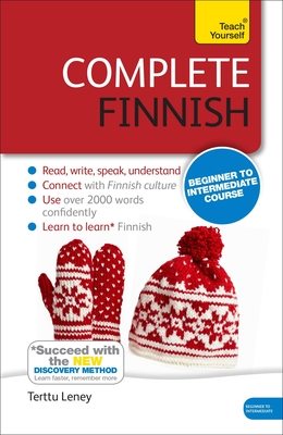 Complete Finnish Beginner to Intermediate Course: Learn to read, write, speak and understand a new language Cover Image