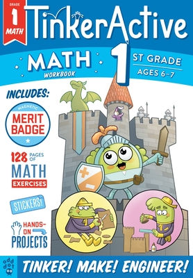 TinkerActive Workbooks: 1st Grade Math Cover Image