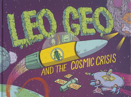 Leo Geo and the Cosmic Crisis Cover