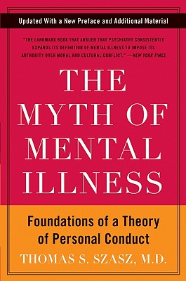 The Myth of Mental Illness Cover