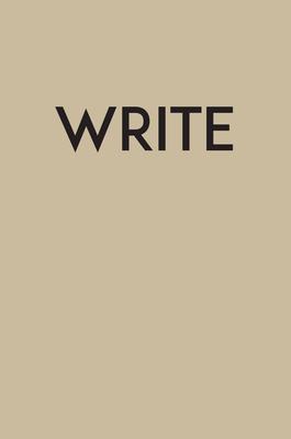 Write - Medium Kraft (Creative Keepsakes #16) Cover Image