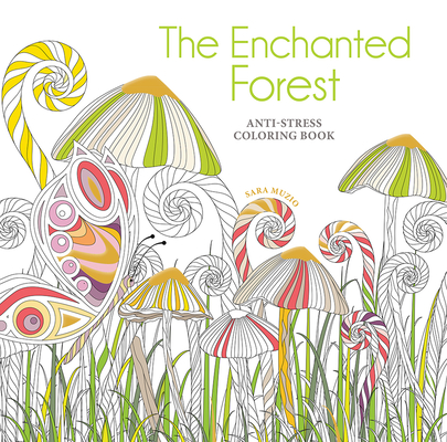 The Enchanted Forest Coloring Book: Anti-Stress Coloring Book cover