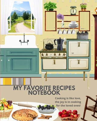 My Favorite Recipes Notebook Cover Image