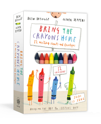 Bring the Crayons Home: A Box of Crayons, Letter-Writing Paper, and Envelopes Cover Image