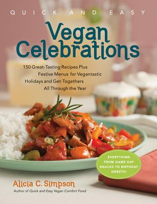 Quick and Easy Vegan Celebrations Cover