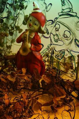 Clowns Notebook Cover Image