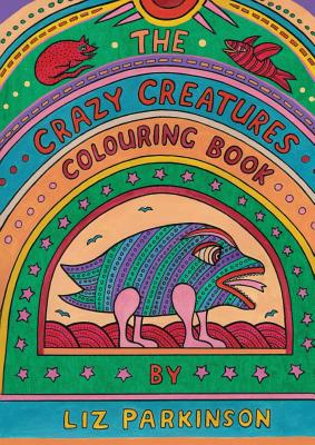 The Crazy Creatures Colouring Book Cover