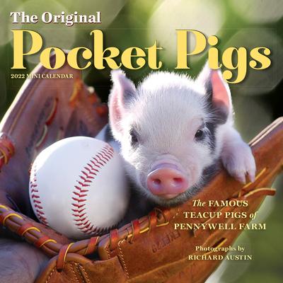 Cover for The Original Pocket Pigs Mini Wall Calendar 2022