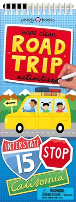 Wipe Clean Activities: Road Trip (Wipe Clean Activity Books) Cover Image