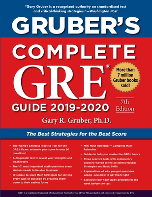Gruber's Complete GRE Guide 2019-2020 Cover Image