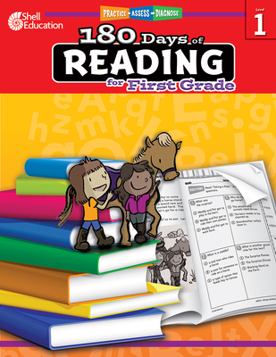 180 Days of Reading for First Grade: Practice, Assess, Diagnose (180 Days of Practice) Cover Image
