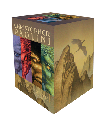 Inheritance Cycle 4-Book Trade Paperback Boxed Set (Eragon, Eldest, Brisingr, Inheritance) Cover