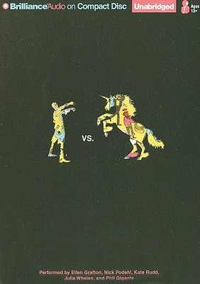 Cover for Zombies vs. Unicorns