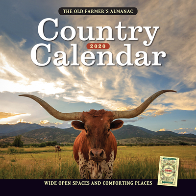 The 2020 Old Farmer's Almanac Country Calendar Cover Image