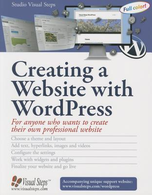 Creating a Website with WordPress (Computer Books for Seniors series) Cover Image