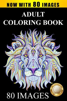 Adult Coloring Book Cover Image