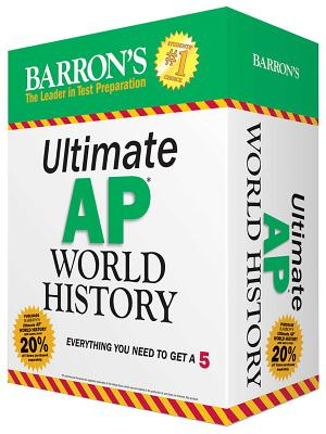 Ultimate AP World History: Everything you need to get a 5 (Barron's AP) Cover Image
