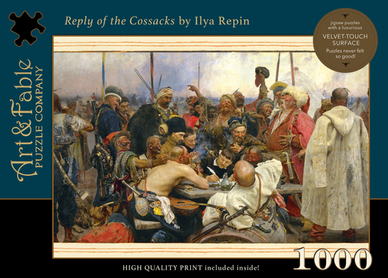 The Reply of the Cossacks: 1000-Piece Velvet-Touch Jigsaw Puzzle [With Print] Cover Image