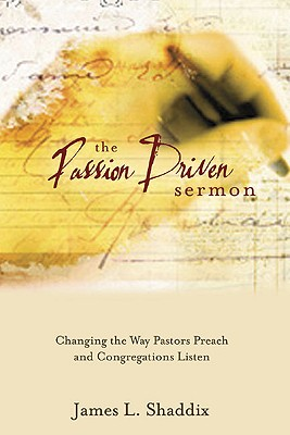 The Passion-Driven Sermon Cover