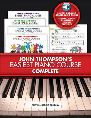 John Thompson's Easiest Piano Course - Complete [With 4 CDs] Cover Image