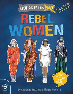 Rebel Women (Fashion Paper Dolls) Cover Image