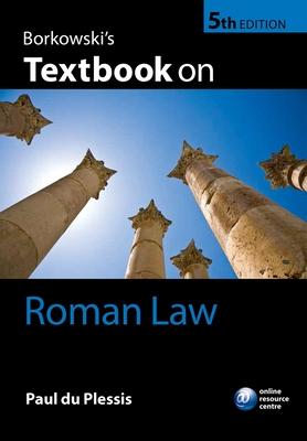 Borkowski's Textbook on Roman Law Cover Image
