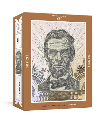 Presidential Puzzlemint 500-Piece Puzzle: An Abraham Lincoln Jigsaw Puzzle & Mini-Poster : Jigsaw Puzzles for Adults Cover Image