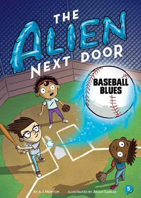 The Alien Next Door 5: Baseball Blues Cover Image