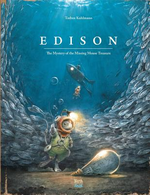 Edison: The Mystery of the Missing Mouse Treasure (Mouse Adventures) Cover Image