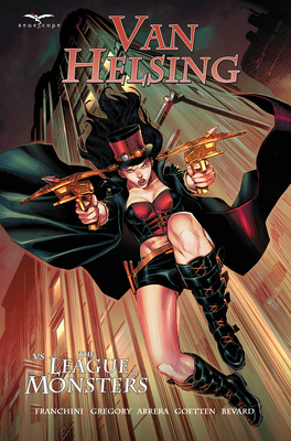 Cover for Van Helsing Vs the League of Monsters