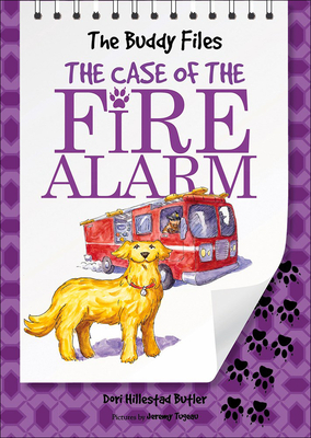 The Case of the Fire Alarm (Buddy Files #4) Cover Image