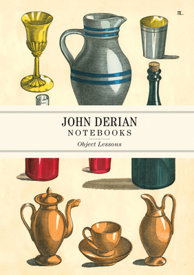 John Derian Paper Goods: Object Lessons Notebooks Cover Image