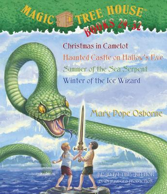 Magic Tree House Collection Books 29-32: Christmas in Camelot/Haunted Castle on Hallow's Eve/Summer of the Sea Serpent/Winter of the Ice Wizard Cover Image