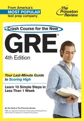 Crash Course for the New GRE Cover