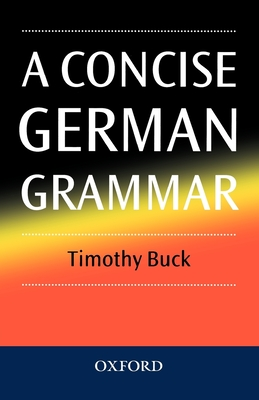 A Concise German Grammar Cover Image