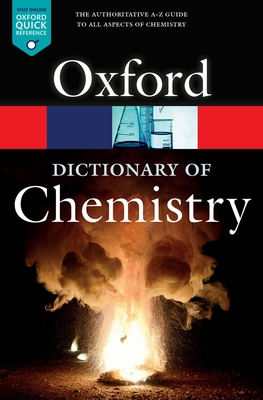 A Dictionary of Chemistry (Oxford Quick Reference) Cover Image
