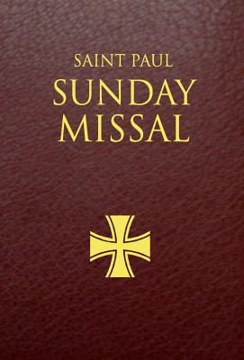 Saint Paul Sunday Missal (Burgundy) Cover Image