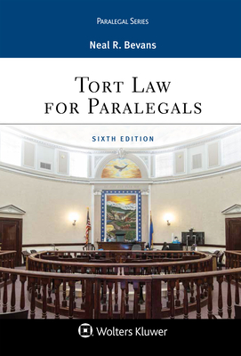 Tort Law for Paralegals (Aspen Paralegal) Cover Image