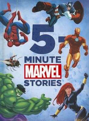 5-Minute Marvel Stories (5-Minute Stories) Cover Image
