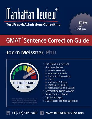 Manhattan Review GMAT Sentence Correction Guide [5th Edition] Cover Image