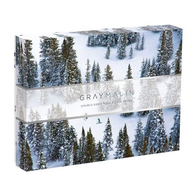 Gray Malin The Snow Two-sided Puzzle Cover Image
