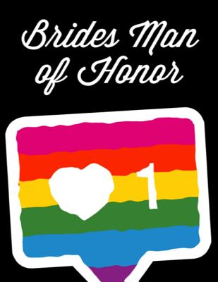 Bridesman Of Honor: Man of Honor Things To Do: Prompted Fill In Organizer for Man of Honor for Notes, Reminders, Lists, Things to do, Impo Cover Image